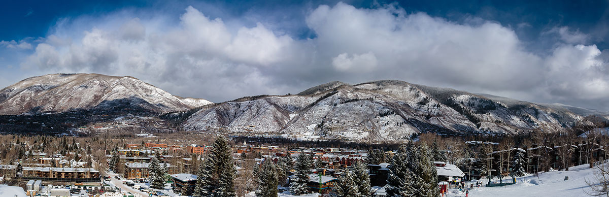 View of Aspen, Colorado